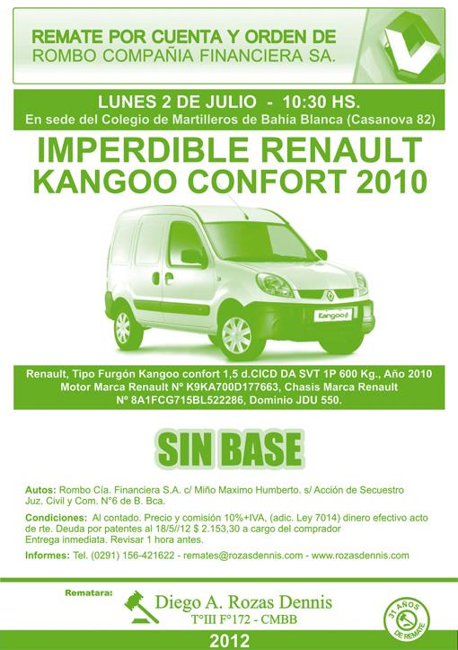 Edicto Kangoo Confort